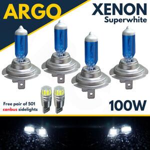 H7-H7-501-100w-Super-White-Xenon-Hid-High-low-side-Light-Beam-Headlight-Bulbs