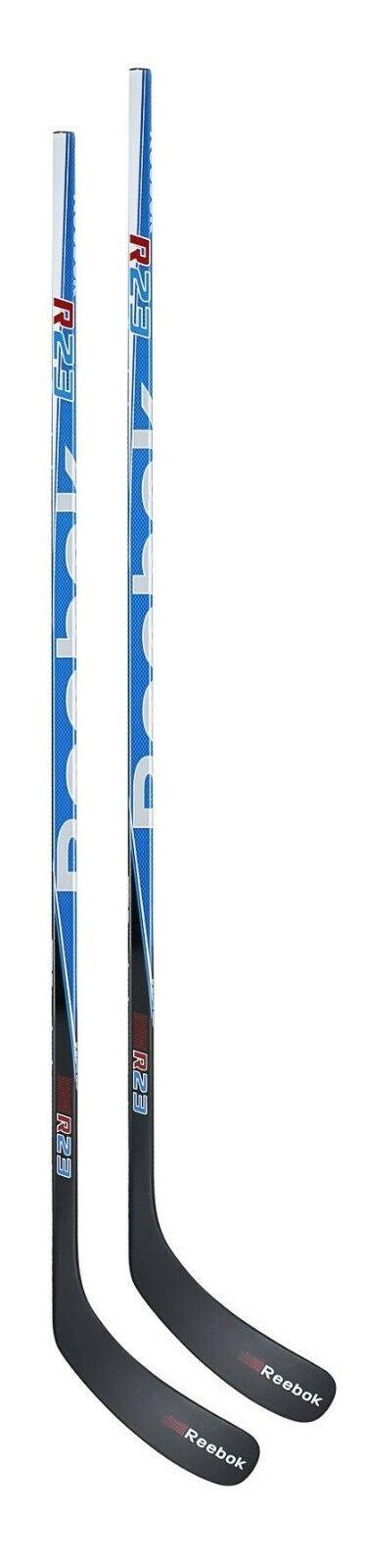 2 New Reebok R23 Grip Sr hockey stick 85 flex P29 left hand LH senior composite