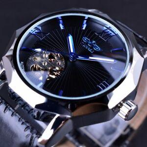 Automatic-Mechanical-Luxury-Men-Wrist-Watch-Leather-Swiss-Sport-Wristwatch-Steel
