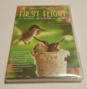 First-Flight-A-Mother-Hummingbird-039-s-Story-Nature-DVD-Region-1-NTSC-US-Canada