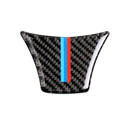 M Sport Carbon Fiber Steering Wheel Trim Decal Sticker For BMW F10 F18 2011-2017