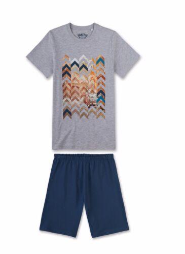 Sanetta Jungen kurzer Schlafanzug Shorty 2-tlg Modelle  Gr versch 140-188