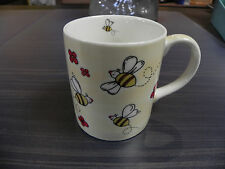 Tasse,Becher 300ml m.Bienenmotiv,Bienen,Imker,Imkerei,Biene,bee-cup,beige