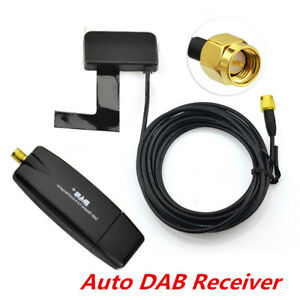Universal-Auto-DAB-Digital-Radio-Audio-Broadcast-Antenne-USB-2-0-Dongle-1x