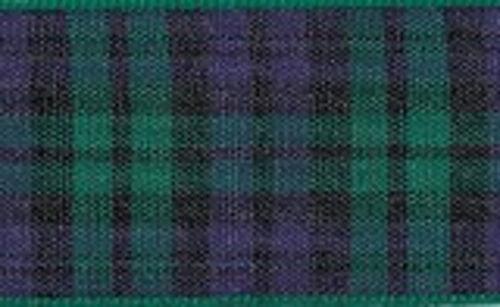 Berisfords  Tartan Ribbon Widths 25mm 40mm 70mm 16 Scottish Approved Patterns