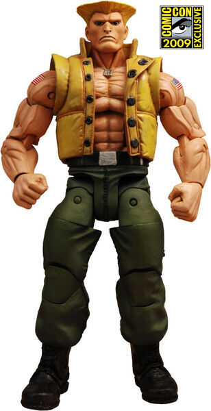 NECA Street Fighter 4 Guile in Charlie Costume SDCC Limited Limited Limited Edition 0848f4