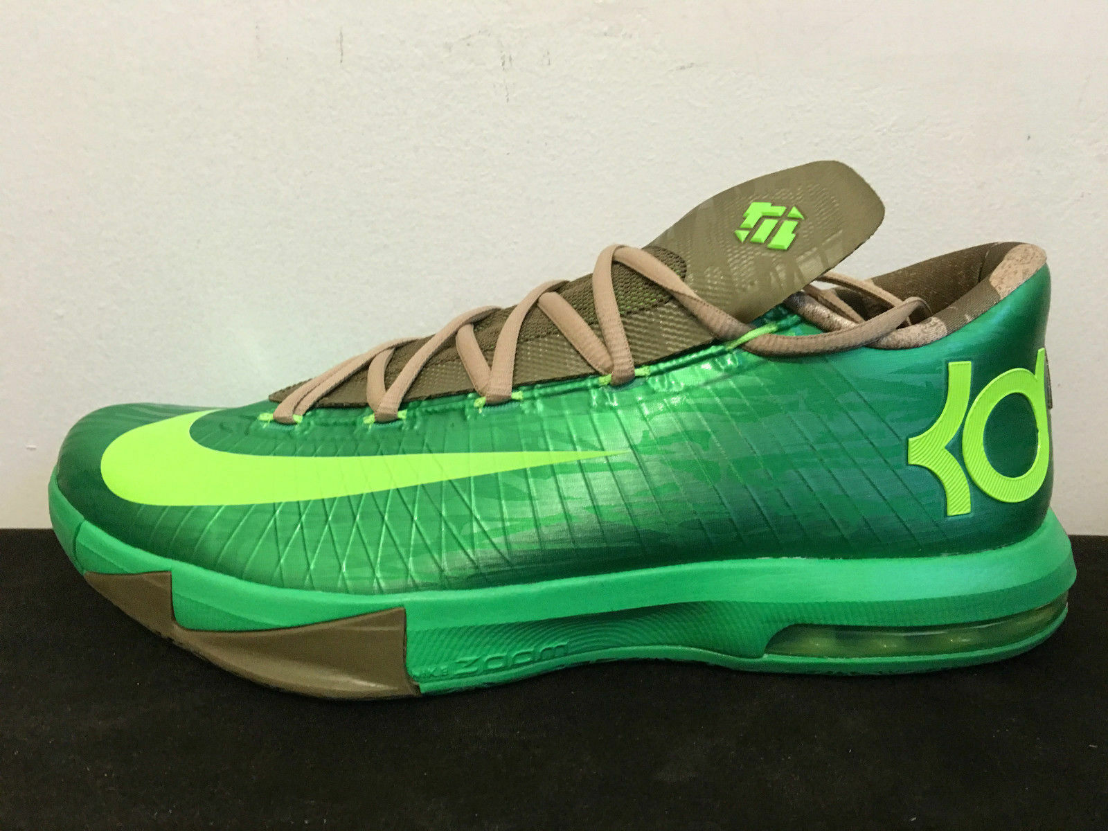 Nike KD VI 6 BAMBOO 11.5 US Gamma The Green Aunt Pearl What The Gamma MVP Kevin Durant 26b446