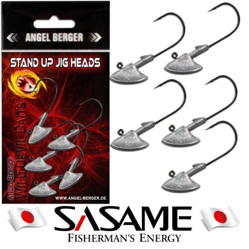 Wild Devil Baits Stand Up Japan Jig Head 5 Stück