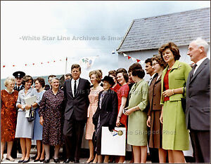 Photo: President Kennedy In Ireland, 1963