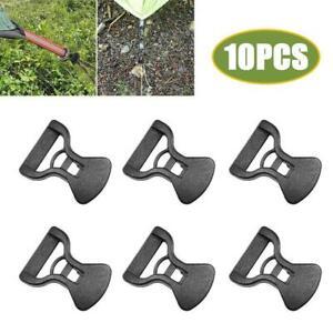 10*Tent Canopy Rainproof Tarp Windproof Rope Buckles Anti-slip Adjustment Buckle