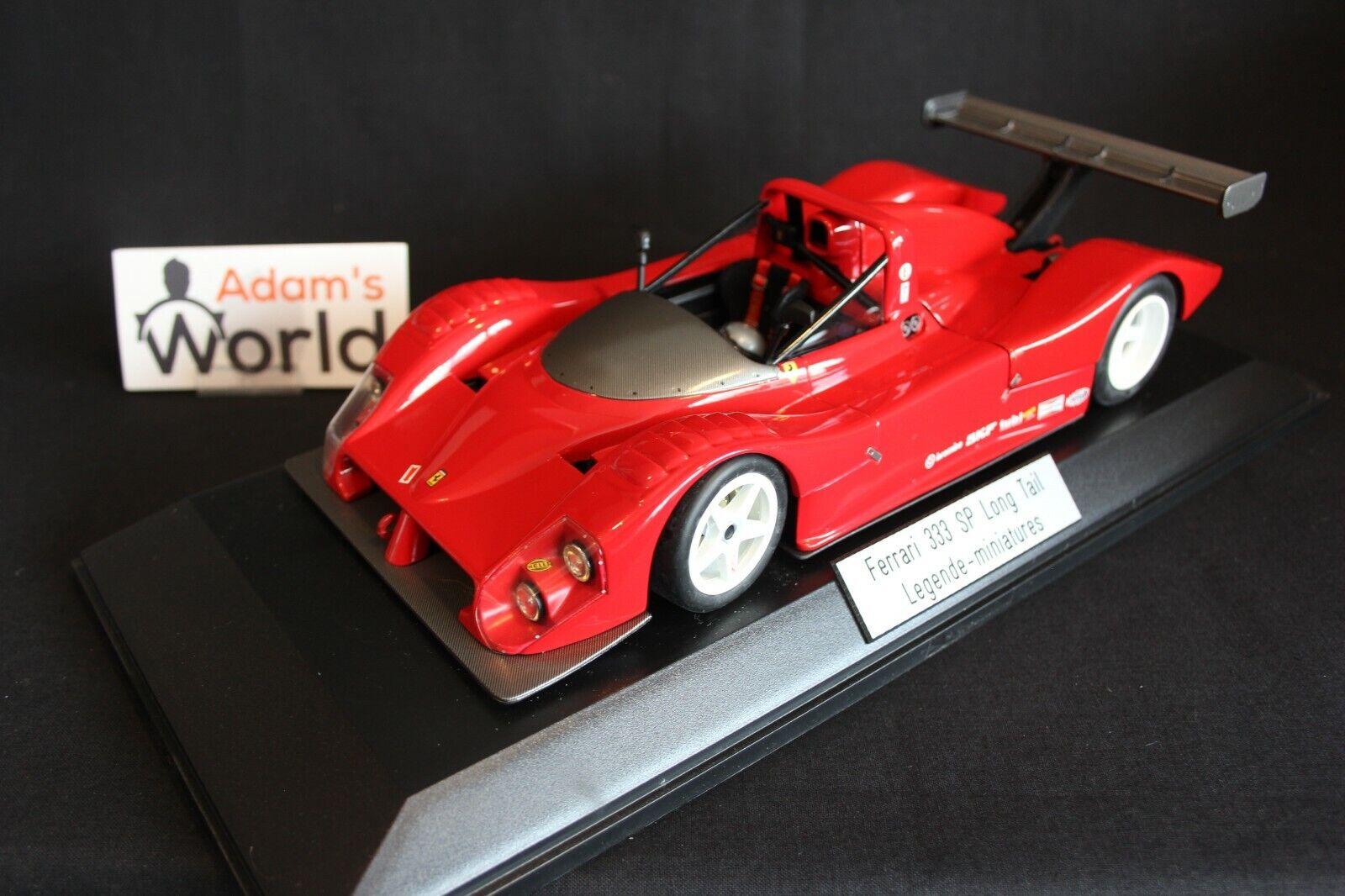 wholesape barato Hot Wheels transkit Ferrari 333 SP 1 18 Long Tail Tail Tail version (PJBB)  Entrega gratuita y rápida disponible.