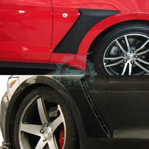 2PCS Front Side Fender Vents Air Outlet Cover Trims Fit For Ford Mustang 2015-16