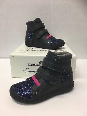 Details about Geox Baltic Boys Black Waterproof School Shoe size eu kids hook loop leather