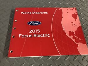 Factory 2015 Ford Focus ELECTRIC Electrical Wiring ...