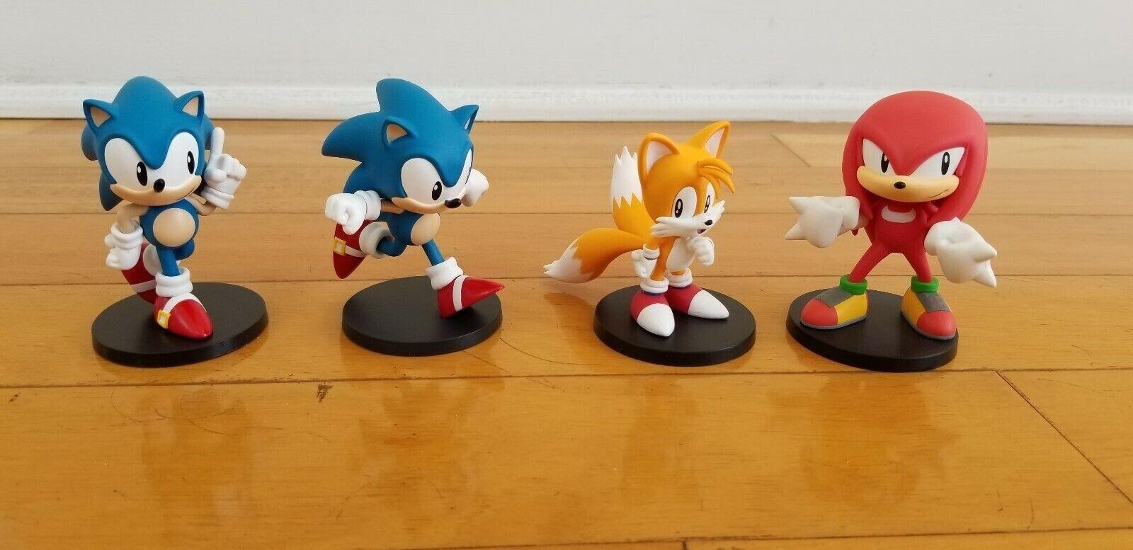 Sonic the Hedgehog Boom8 Series Vol 1 + 2 + 3 + 4 pvc figures (set of 4)