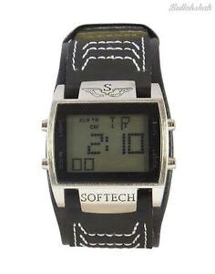 softech s designer digital wide black