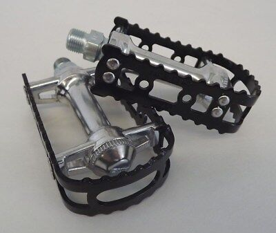 MKS BM-7 BMX Cage Pedals Black Anodized 9//16
