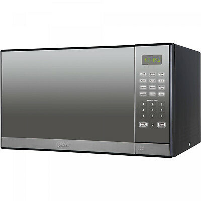 Stainless Steel 1 3 Cu Ft Microwave Oven Mirror Finish W