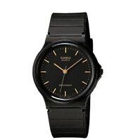 Casio Men's Black Resin Watch, Analog, Water Resistant, MQ24-1E