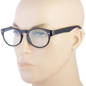 87e4293f9d52 Image is loading Reading-Glasses-no-line-progressive-clear-lens-Round-