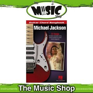 Details about New Guitar Chord Songbook Michael Jackson - Chords & Lyrics  Music Book