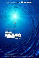 Finding Nemo Movie Poster 2 Sided Original Advance Ver A 27x40 Disney