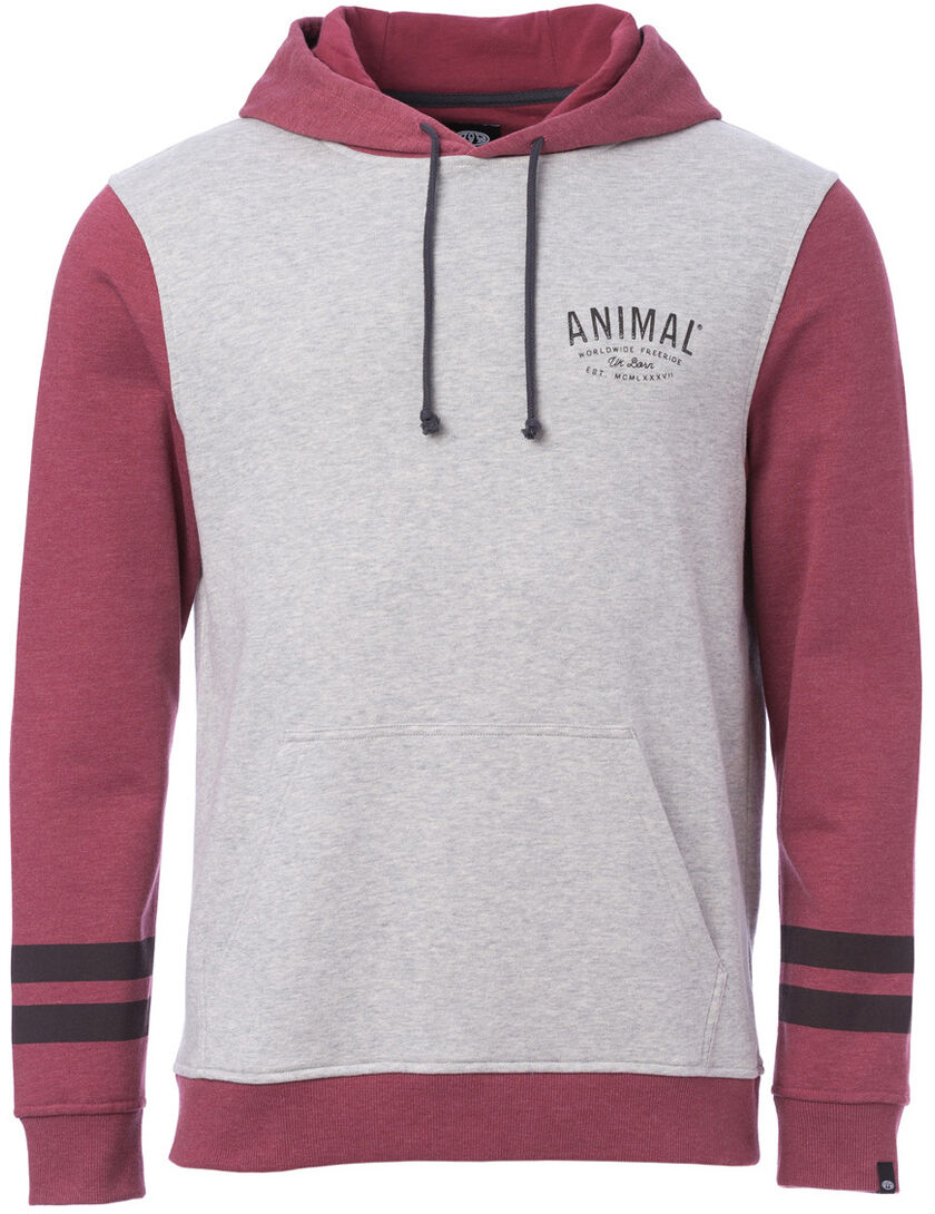 Animal Viv Pullover Hoody in Wild Ginger ROT