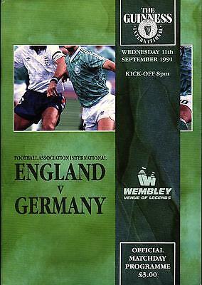 11.09.1991 England - Deutschland