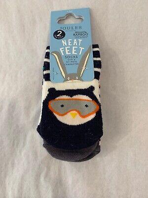 NWT Joules Neat Feet Socks Dog Size 1-2 Years