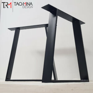 Piedi Tavolo Ferro.2x Piedi Tavolo In Metallo Gambe Per Tavolo In Ferro A