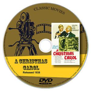 A Christmas Carol 1938 Classic DVD Film BUY 2 GET 1 FREE Drama, Family | eBay