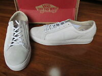 Vans Otw Whitlock Skate Shoes Mens 13 White/white Leather Suede
