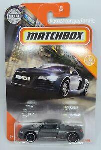 2020 Matchbox Audi R8 MBX City #29//100  OVP Brandneu Grau Super Selten