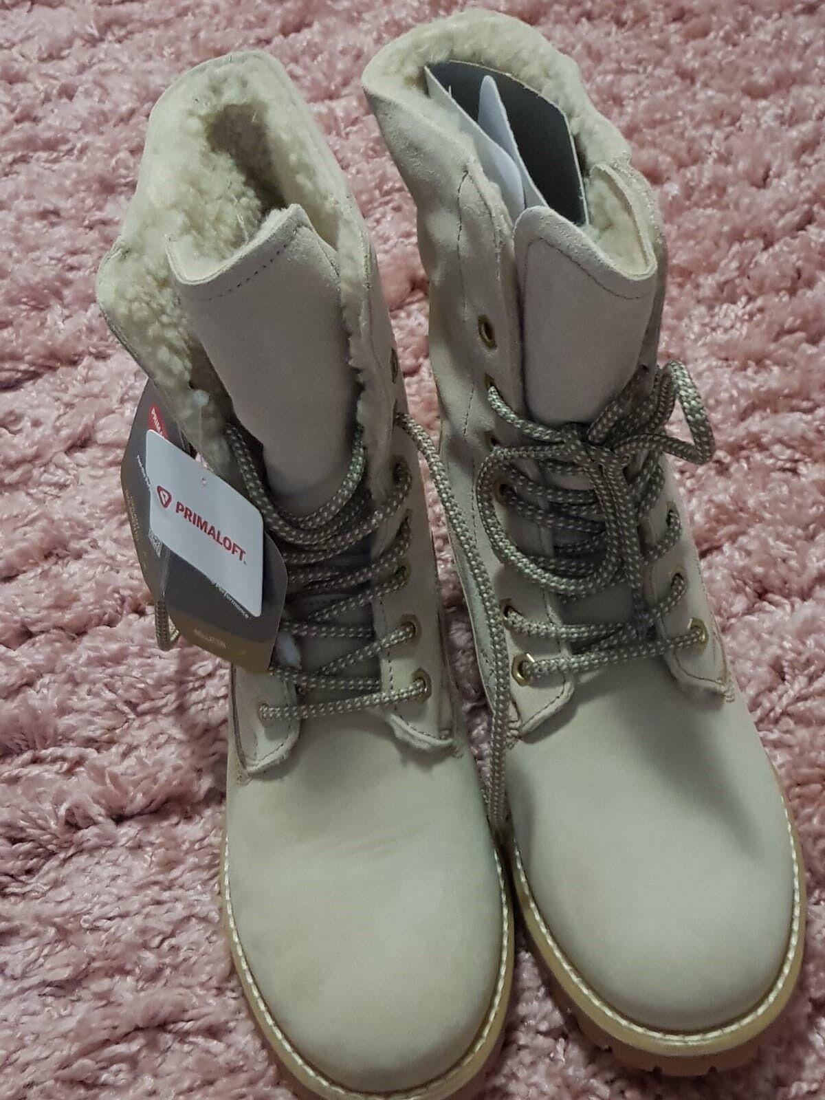 Details zu Tamaris Spitze Stiefel Stiefeletten Pumps Sandalen Grau ECHTES LEDER Gr. 35