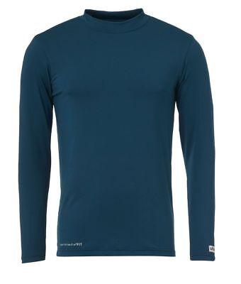 2019 Moda Uhlsport Calcio Funzione Shirt Uomo Manica Lunga Sotto Camicia Verde-blu- Pacchetto Elegante E Robusto