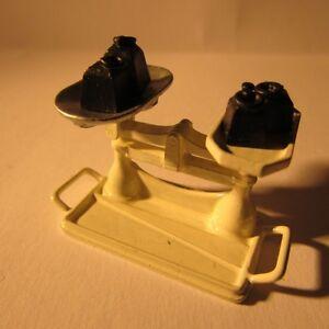 Dollshouse Miniature Couleur Crème Métal échelles ~ échelle 1/12-afficher Le Titre D'origine Grandes VariéTéS