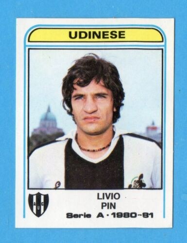 PANINI CALCIATORI 1980//81 Figurina n.313 PIN UDINESE NEW