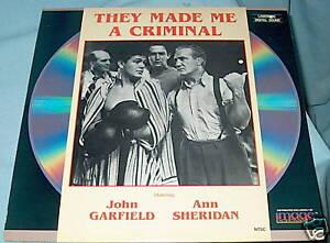 LD-laserdisc-JOHN-GARFIELD-They-Made-Me-a-Criminal