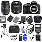 Nikon D3400DSLR Camera w/ VR 18-55mm + 70-300+ 32GB VALUE BUNDLE * Brand New*