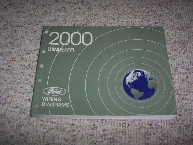 2000 Ford Windstar Electrical Wiring Diagram Manual Lx Se Sel Limited V6 3 0l