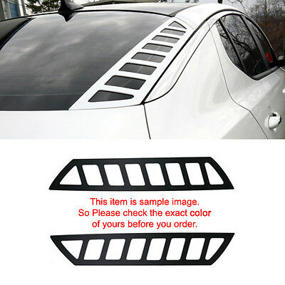 Rear Glass Dress Up Plate Painted Matte White for KIA 2011-2015 Optima / K5