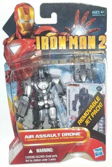 Iron Man 2 Movie Series Air Assault Drone Action Figure #17
