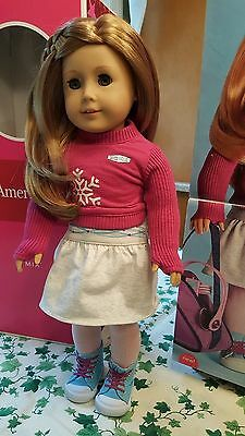 "BONUS BOOTS ~ New Unopened Box American Girl Kendall 14.5/""Doll"