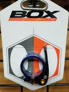 Box Components Helix QR Seat Clamp 31.8mm Gold