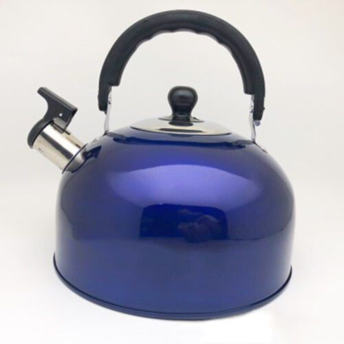 3L Stainless Steel Stove Gas Teapot Whistling Kettle Kettle Hob Fast Boil 1pc