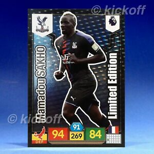 Panini-ADRENALYN-XL-2019-2020-Sakho-Limited-Edition-Crystal-Palace-Premier