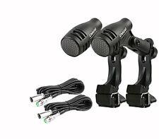 2 x d-606 a impulsi Tom/Rullante Microfono & 2 X CAVI XLR Neewer 20ft/6m