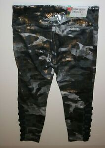 NEW Justice Black Athletic Crop Length Leggings NWT 6 7 8 10 12 14 16 20 Girls
