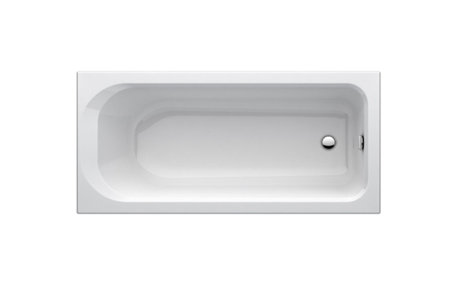 Acryl Badewanne 170 x 70  weiß  Vigour ONE  Lagerware