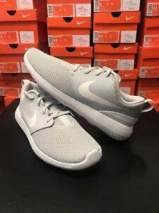 38360d83fd4d Women s Nike Golf Roshe G Shoes AA1851-001   Light Gray White  Size ...